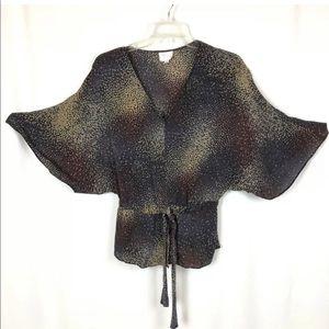 Parker Kimono Blouse Silk Top